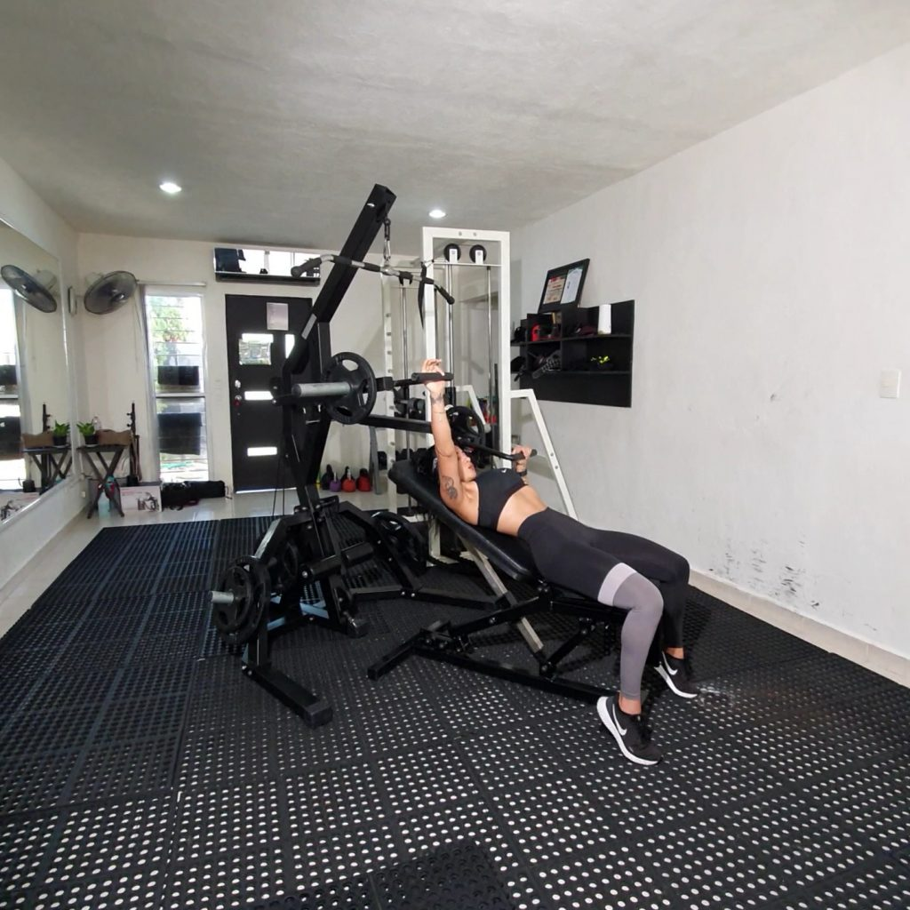 ISO Lateral Incline Chest Press