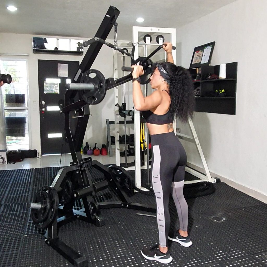 ISO Lateral Stand Shoulder Press
